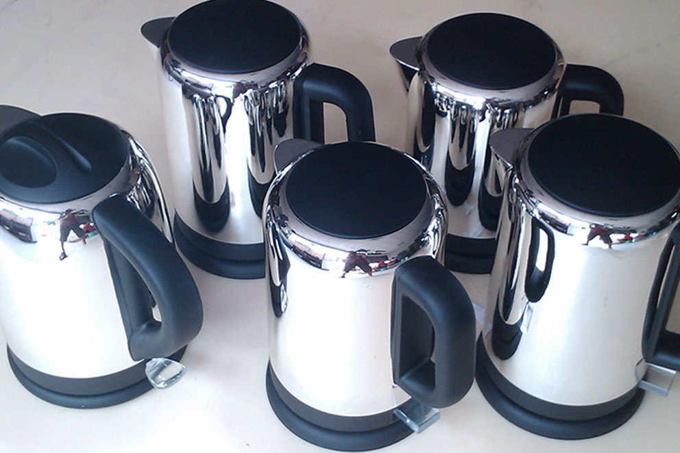 Stainless steel prototpye with chrome plated